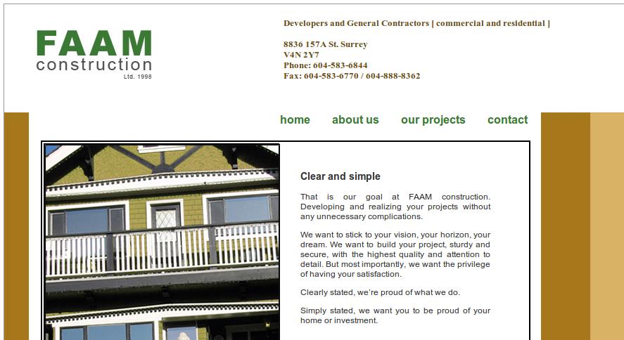 OptoMedia and FAAM Construction