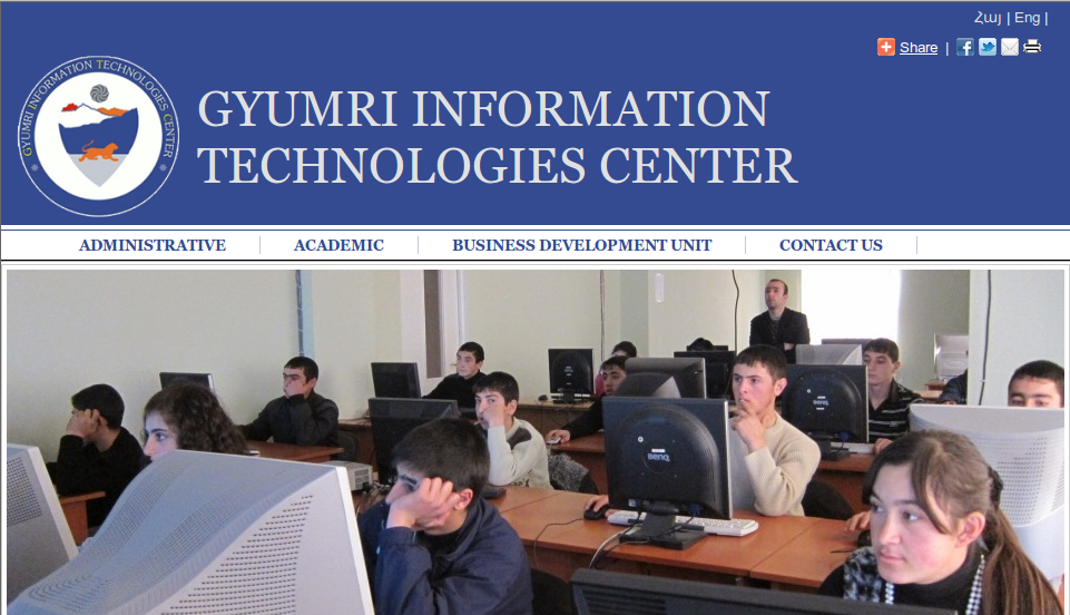 OptoMedia and the Gyumri Information Technology Centre