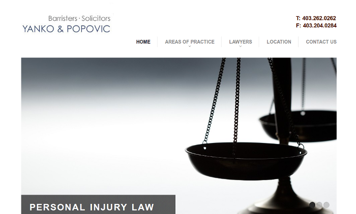 Yanko and Popovic :: Barristers and Solicitors [OptoMedia]