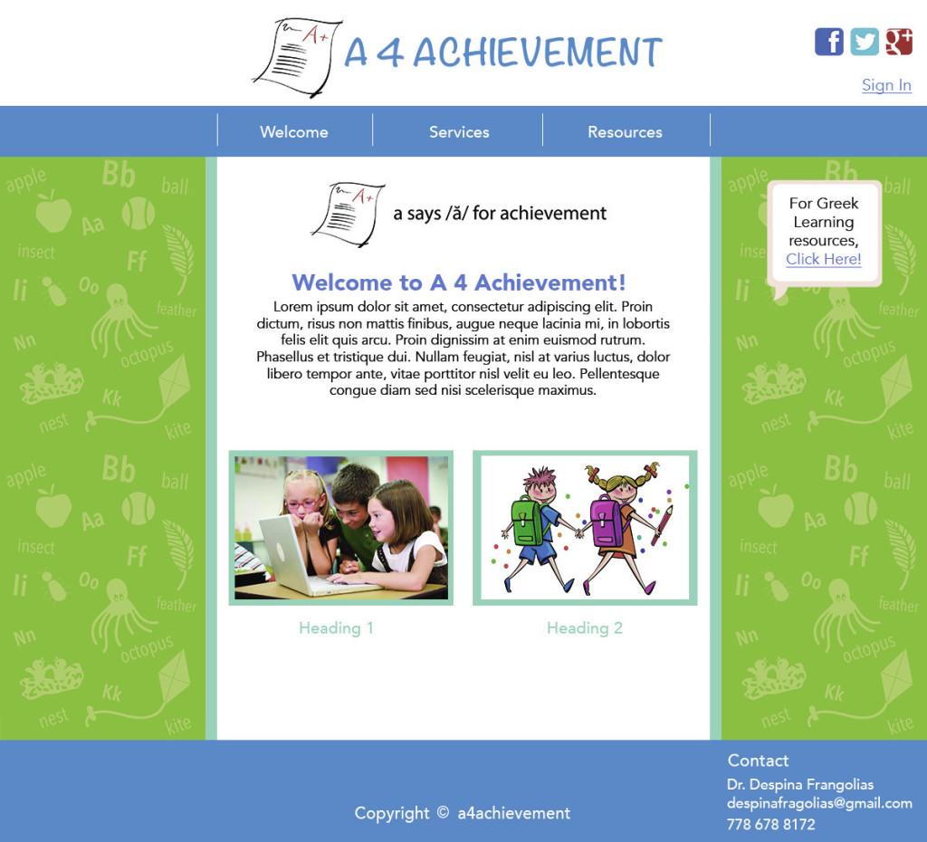 a4achievement-screen